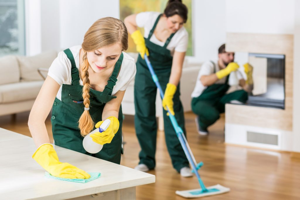 House cleaning by professional cleaners near me Property Refresh