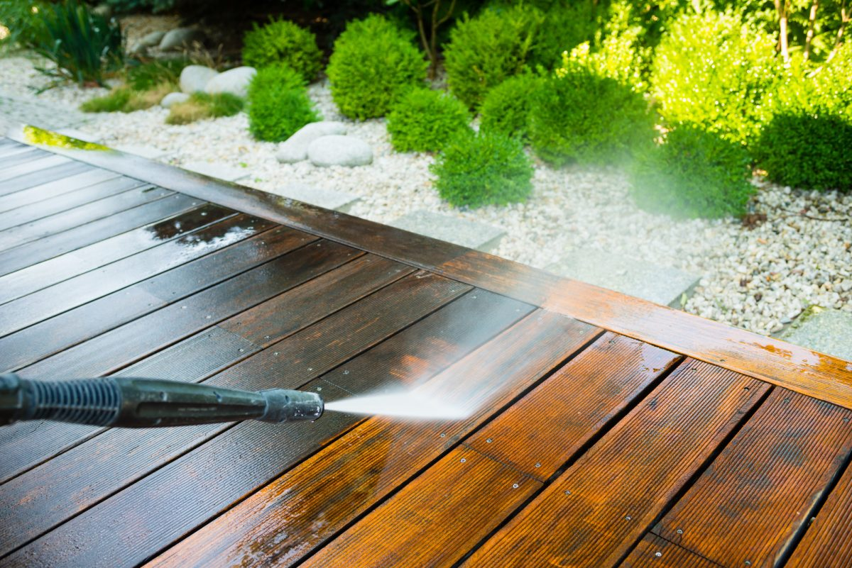 How to Power Wash a Deck: The Complete Guide